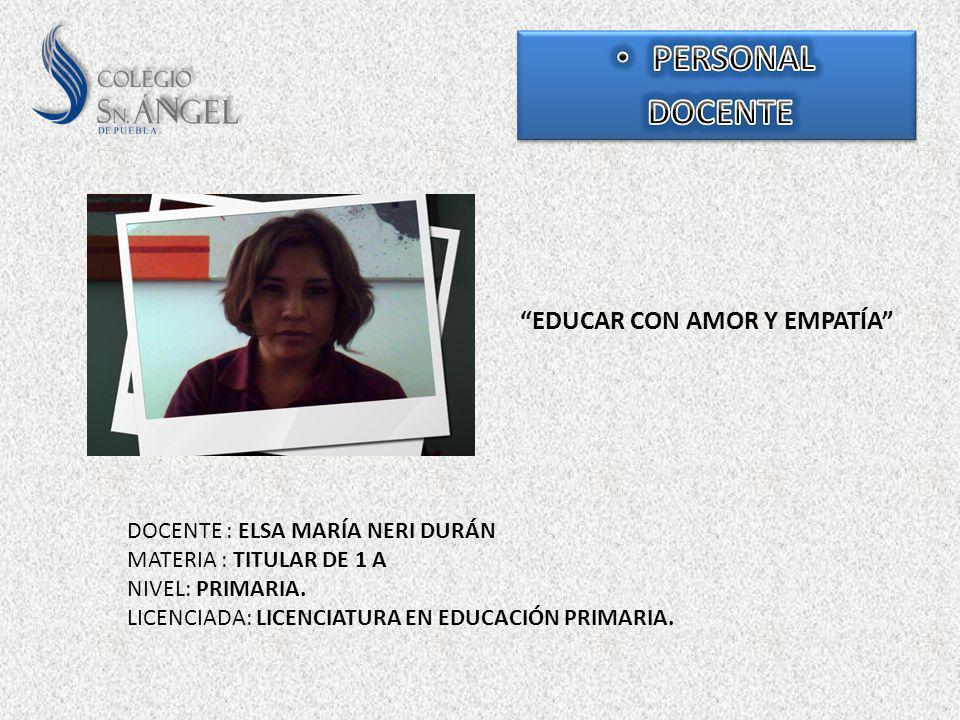 EDUCAR CON AMOR Y EMPATÍA