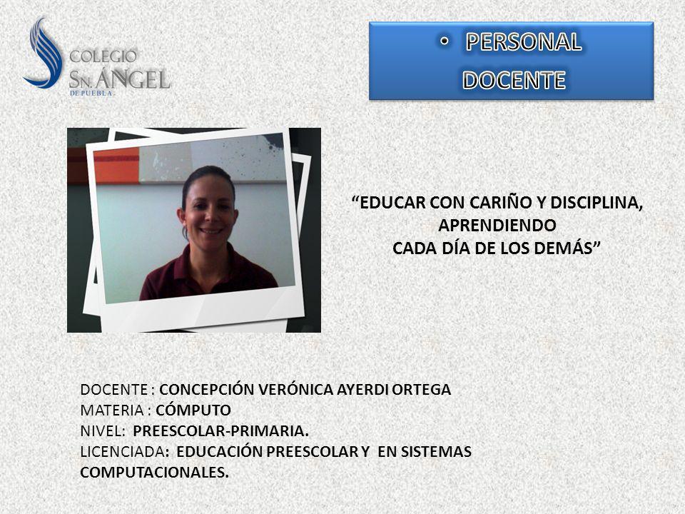 EDUCAR CON CARIÑO Y DISCIPLINA, APRENDIENDO