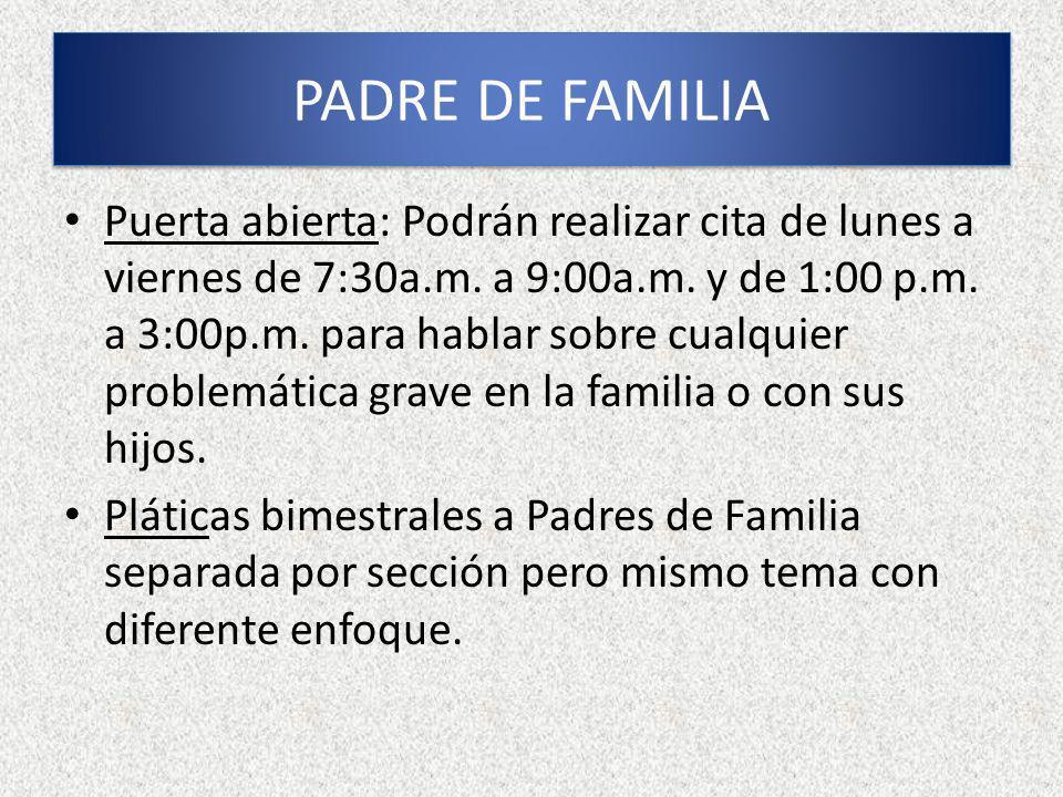 PADRE DE FAMILIA