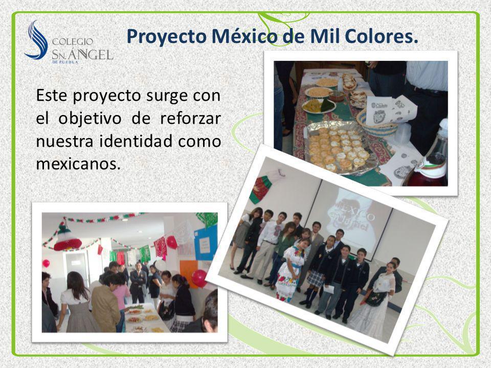 Proyecto México de Mil Colores.