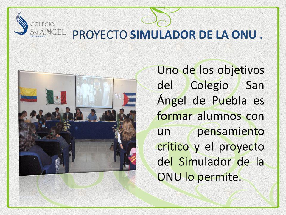 PROYECTO SIMULADOR DE LA ONU .