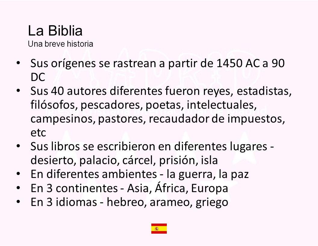 La Biblia Una breve historia