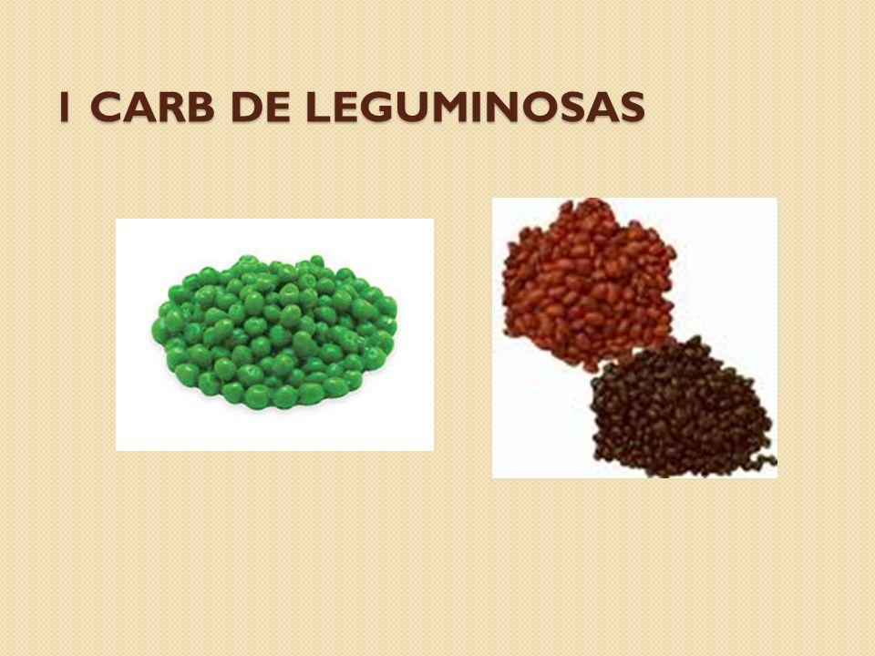 1 carb de leguminosas