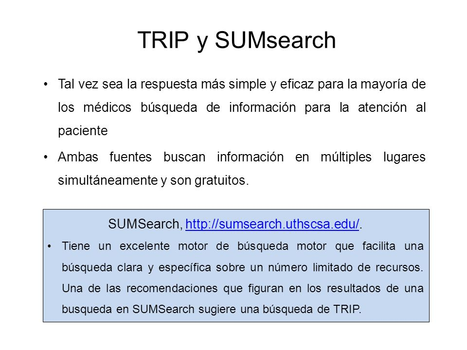 SUMSearch, http://sumsearch.uthscsa.edu/.