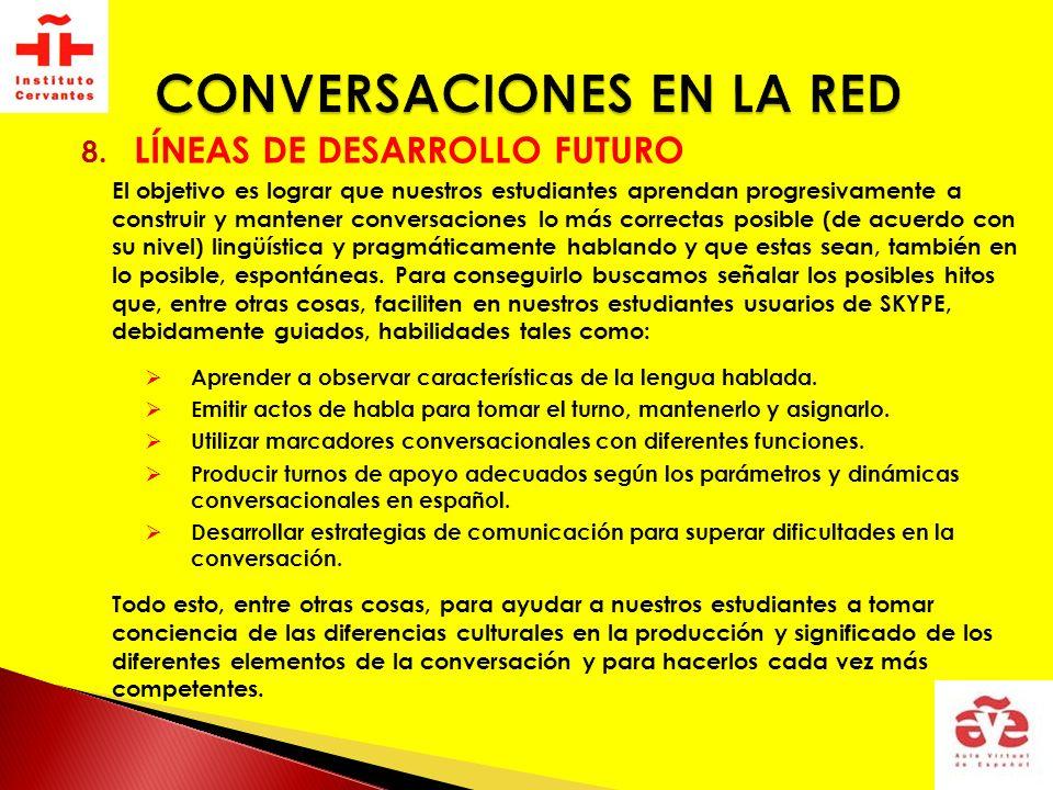 CONVERSACIONES EN LA RED