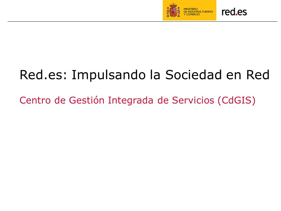 Red.es: Impulsando la Sociedad en Red