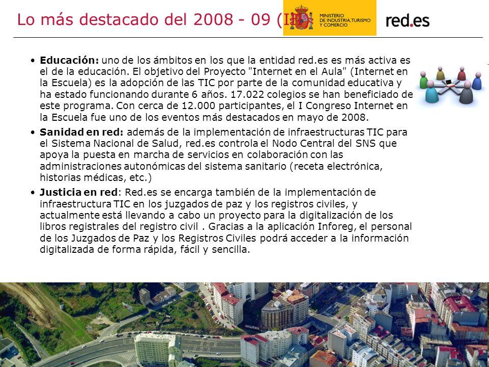 Lo más destacado del 2008 - 09 (III)