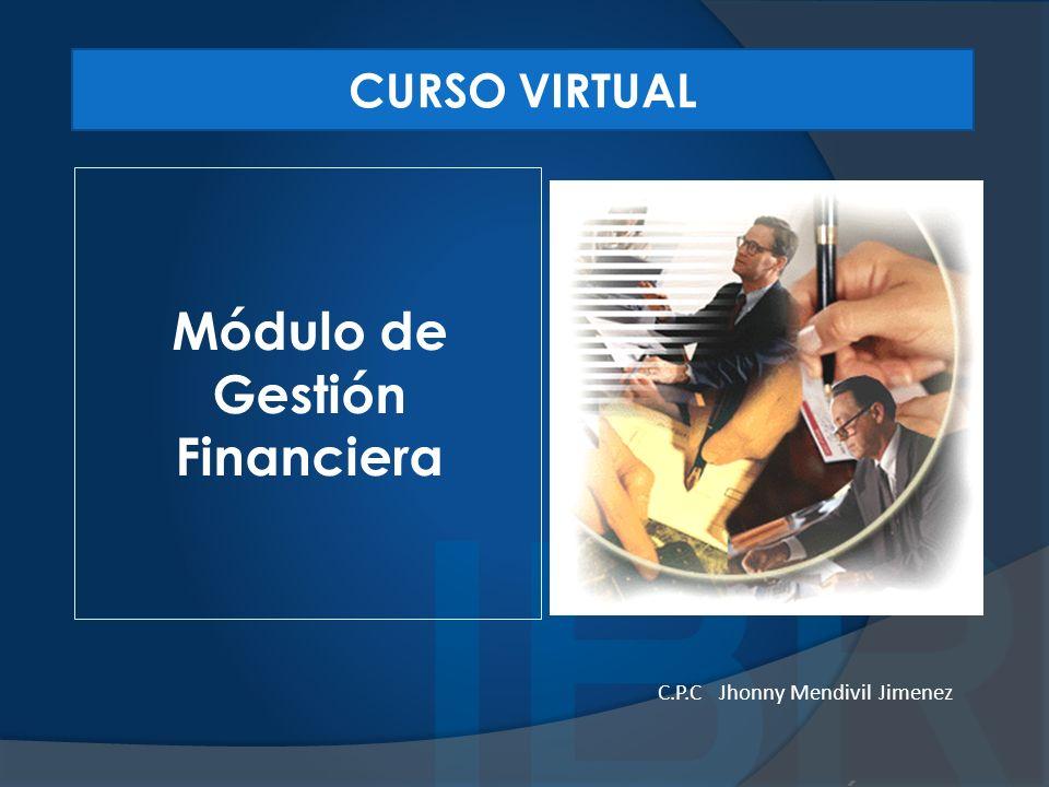 Módulo de Gestión Financiera