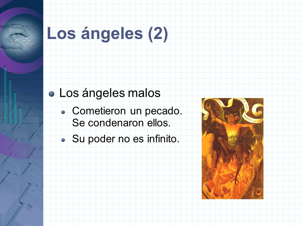 Los ángeles (2) Los ángeles malos