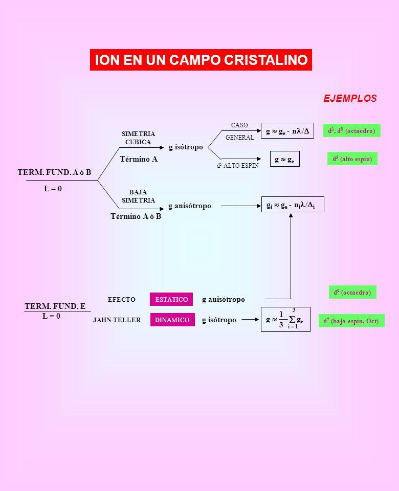 ION EN UN CAMPO CRISTALINO