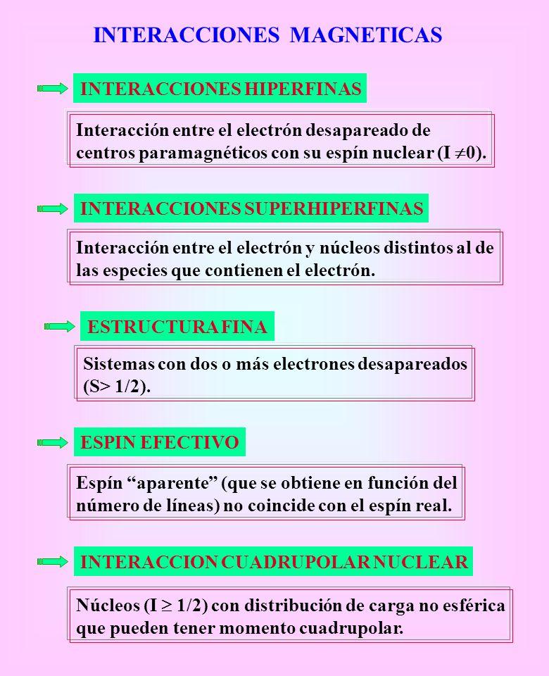 INTERACCIONES MAGNETICAS