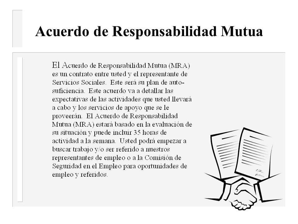 Acuerdo de Responsabilidad Mutua