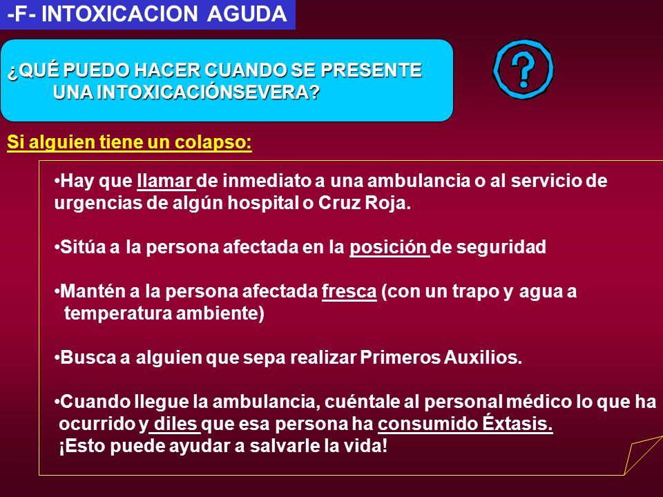 -F- INTOXICACION AGUDA