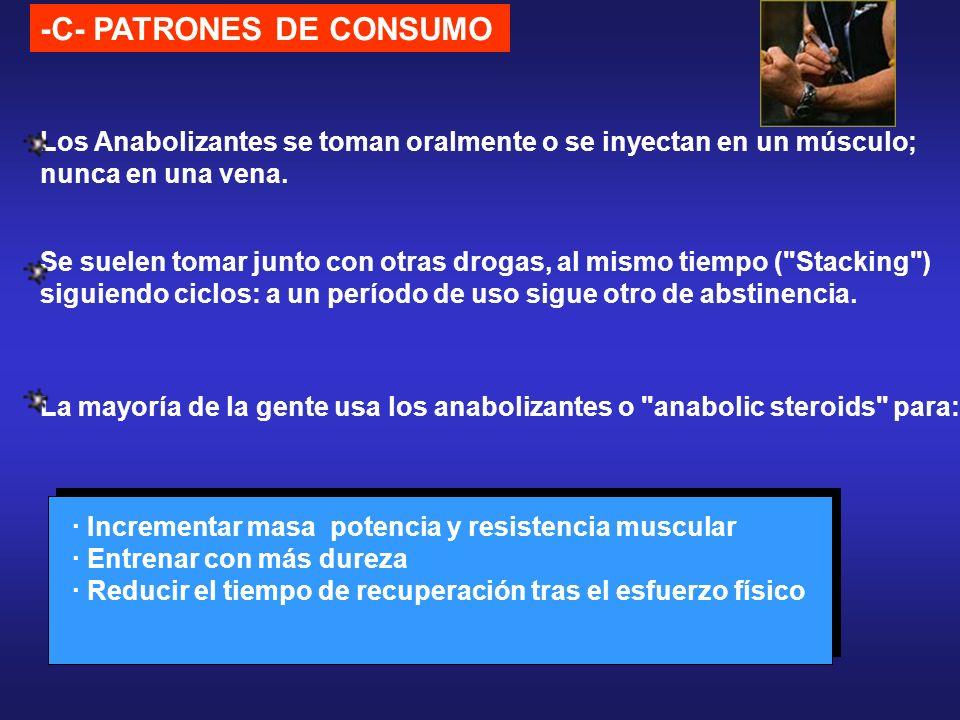 -C- PATRONES DE CONSUMO