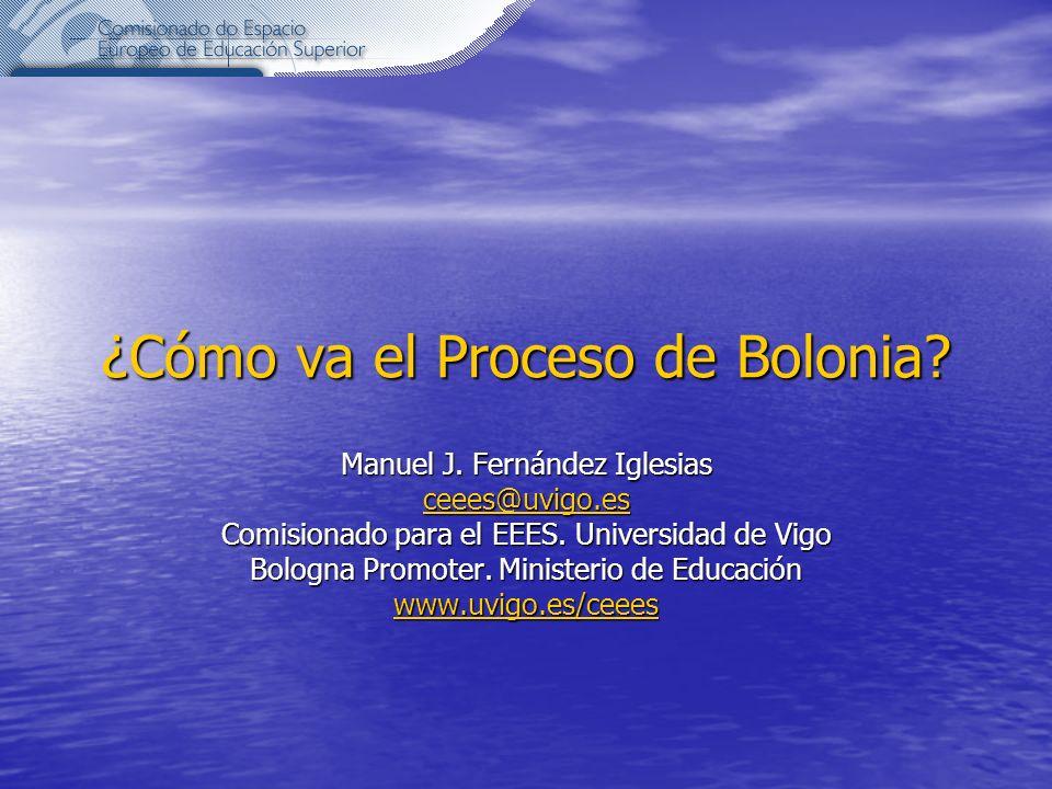 ¿Cómo va el Proceso de Bolonia