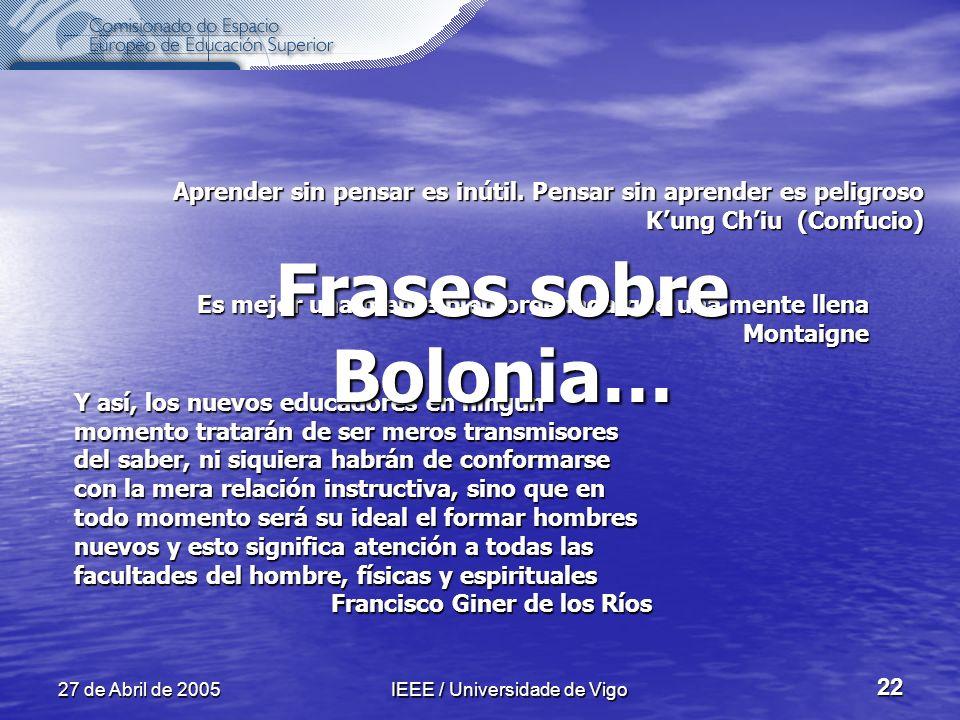 IEEE / Universidade de Vigo