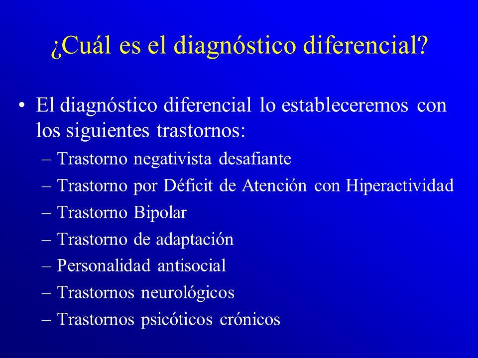 ¿Cuál es el diagnóstico diferencial