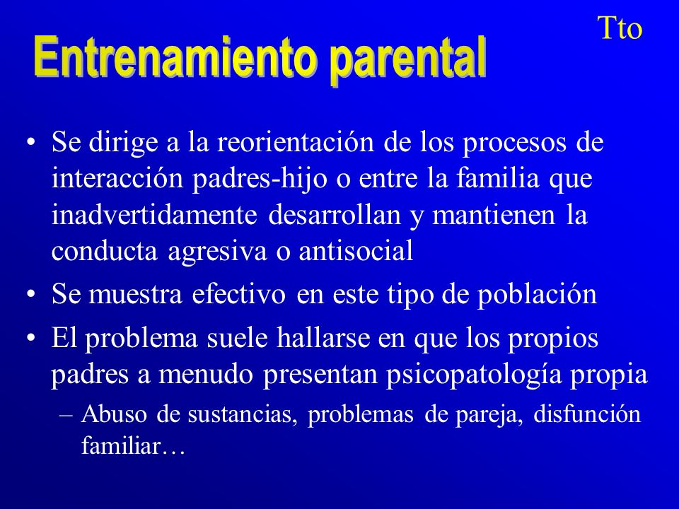 Entrenamiento parental