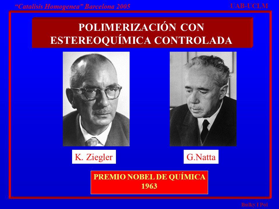 POLIMERIZACIÓN CON ESTEREOQUÍMICA CONTROLADA