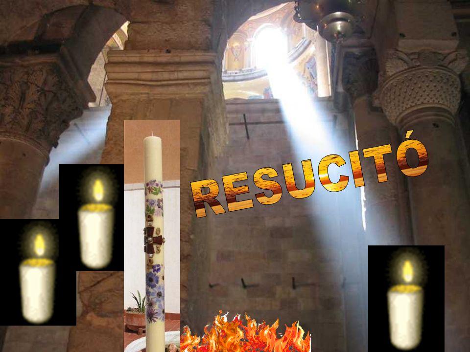 RESUCITÓ Losa de la sepultura de Jesús