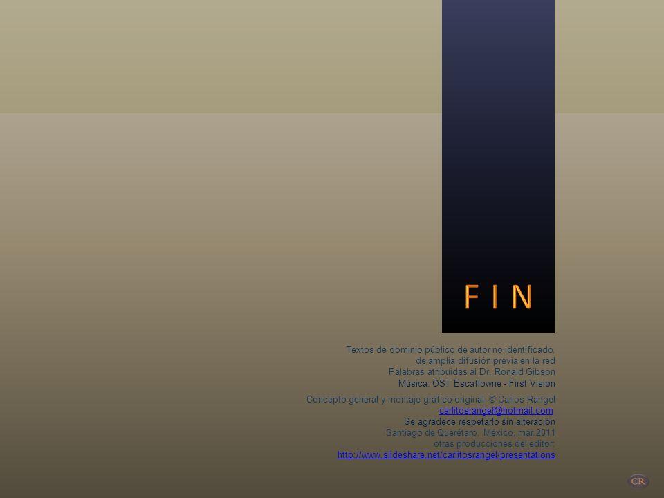 F I N Textos de dominio público de autor no identificado,