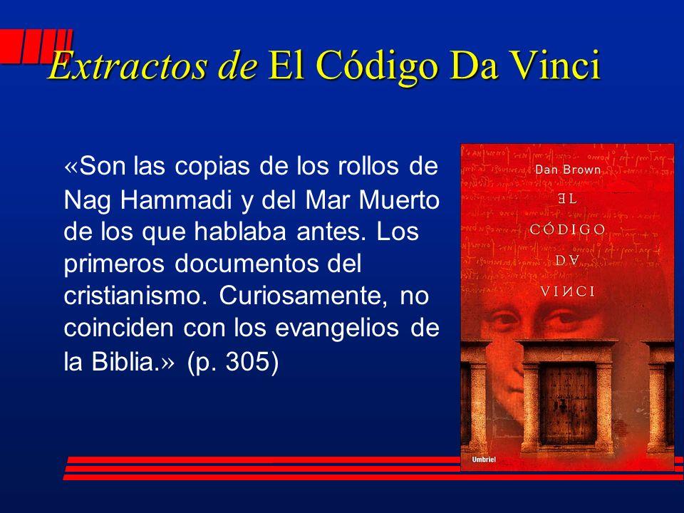 Extractos de El Código Da Vinci