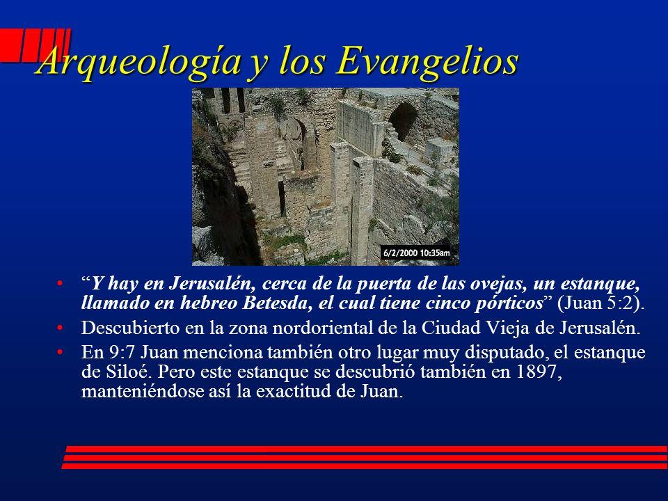 Arqueología y los Evangelios