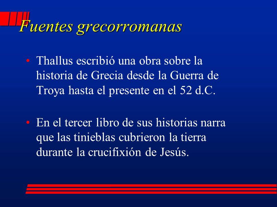 Fuentes grecorromanas