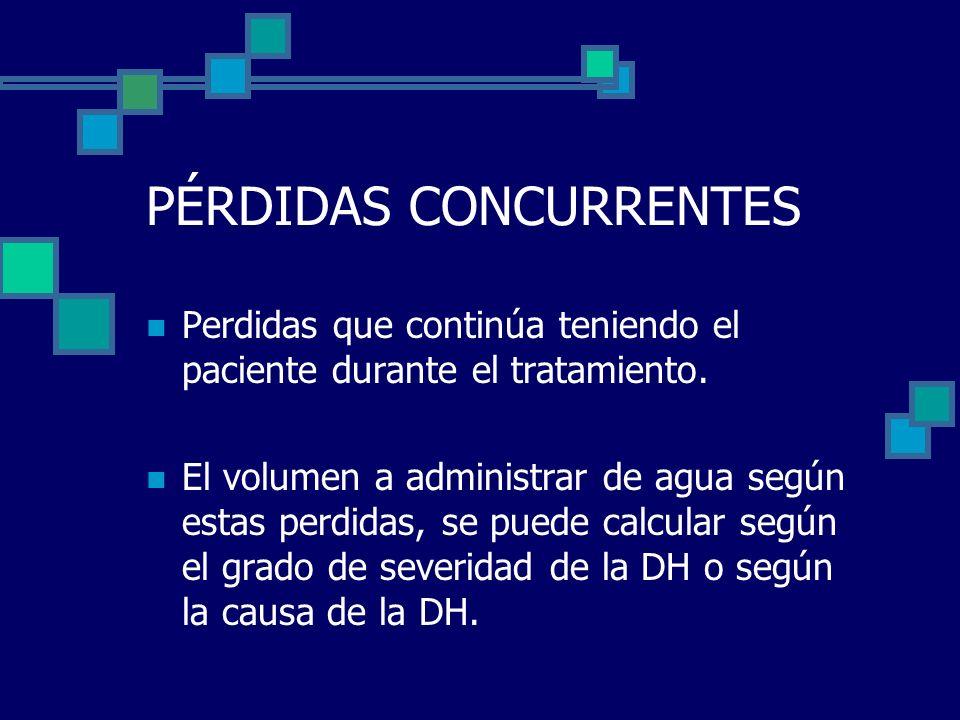 PÉRDIDAS CONCURRENTES