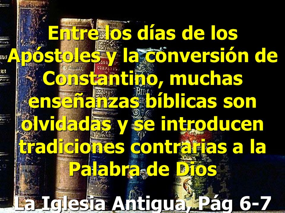 La Iglesia Antigua, Pág 6-7
