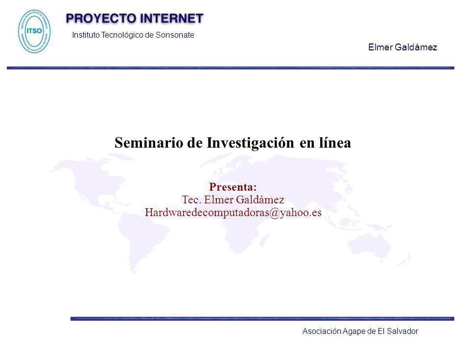 Seminario de Investigación en línea