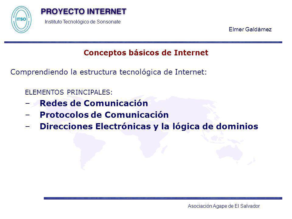 Conceptos básicos de Internet