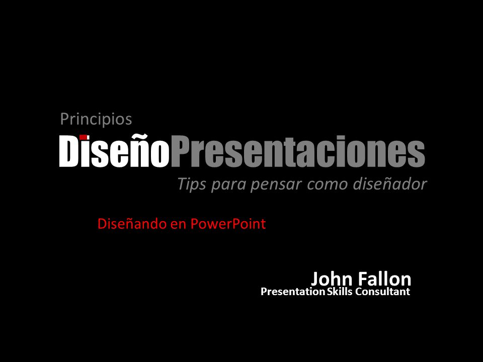 DiseñoPresentaciones