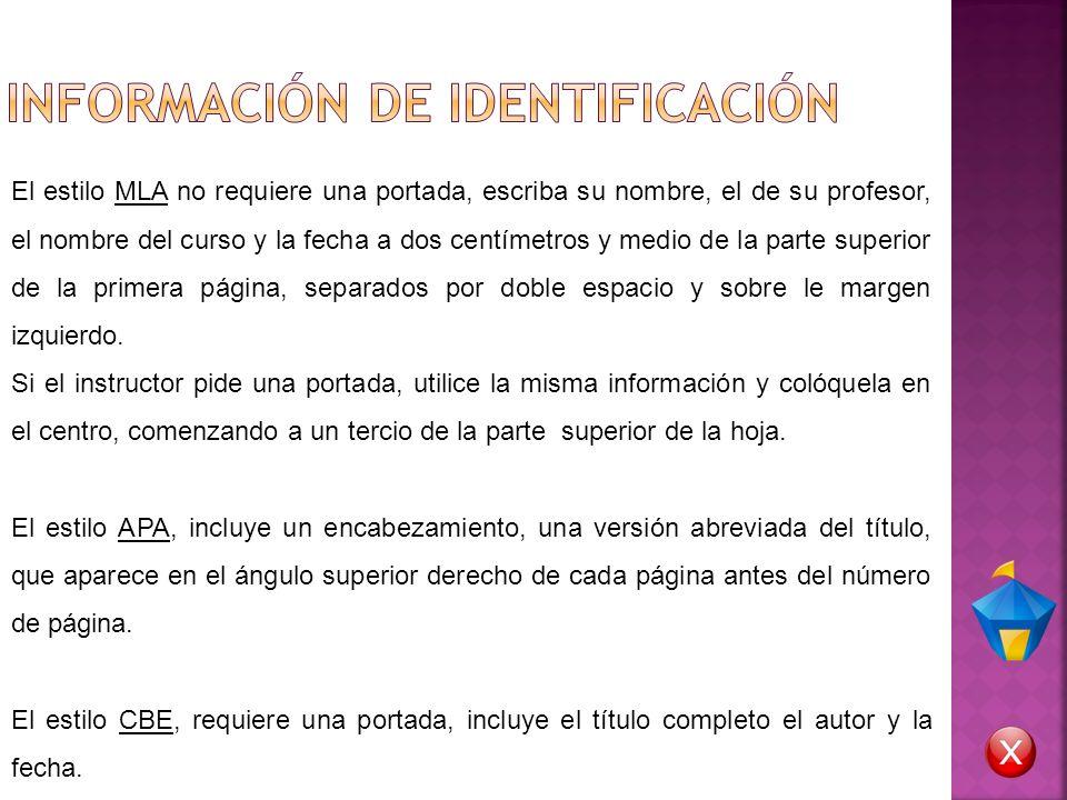 INFORMACIÓN DE IDENTIFICACIÓN