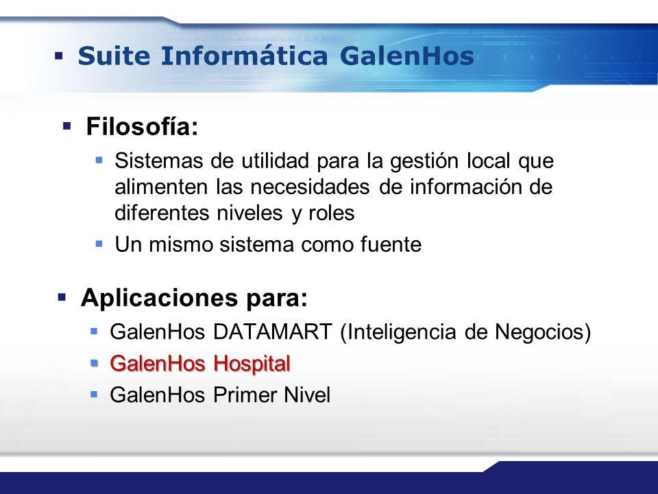 Suite Informática GalenHos