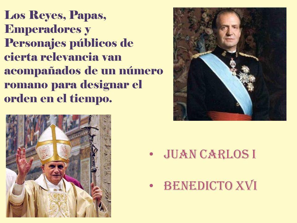 Juan carlos I Benedicto Xvi Los Reyes, Papas, Emperadores y
