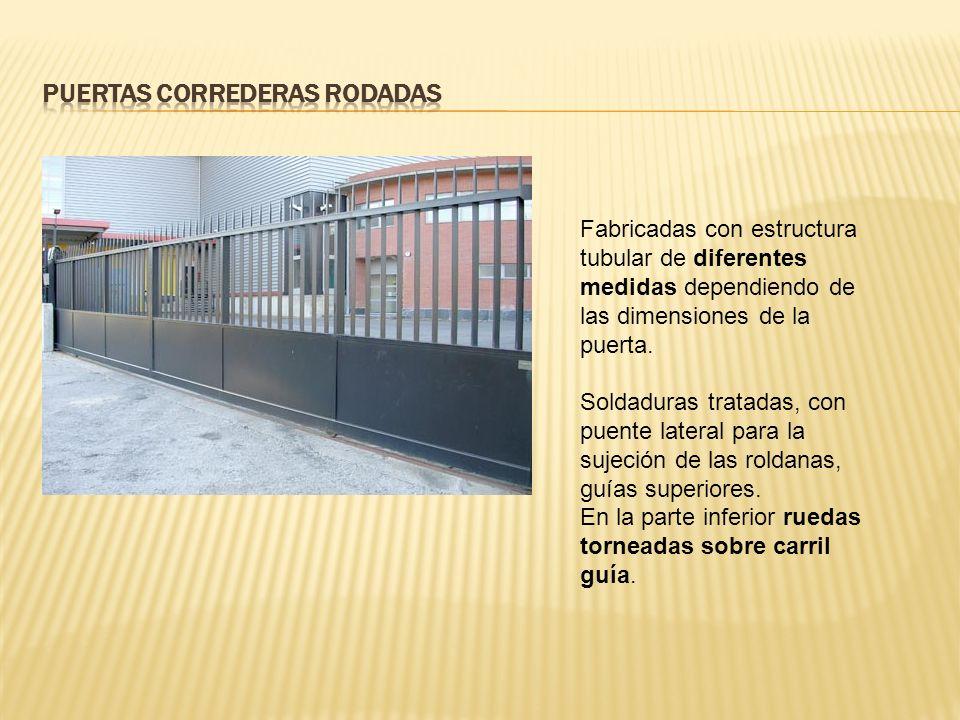 Puertas Correderas Rodadas
