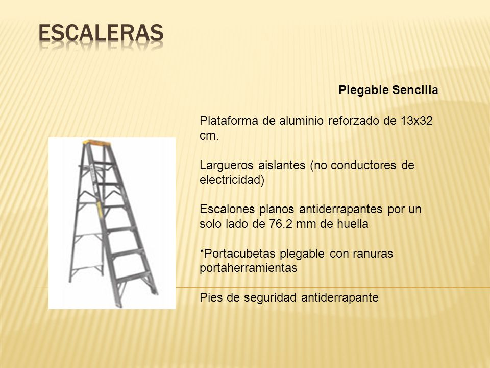 Escaleras Plegable Sencilla