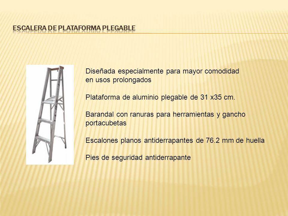 Escalera de Plataforma Plegable