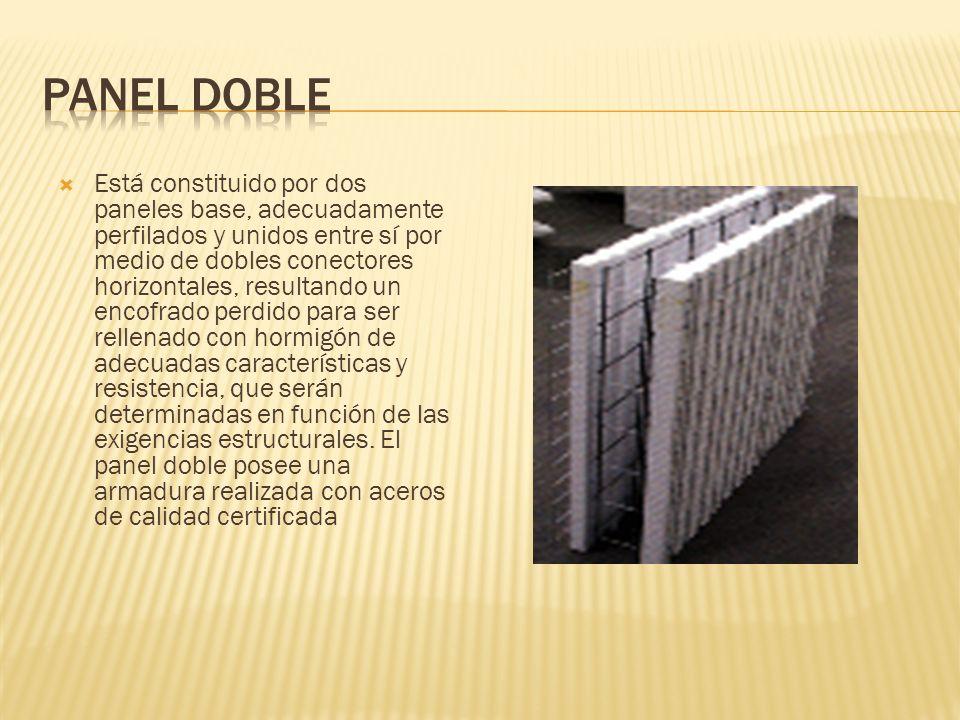 Panel doble