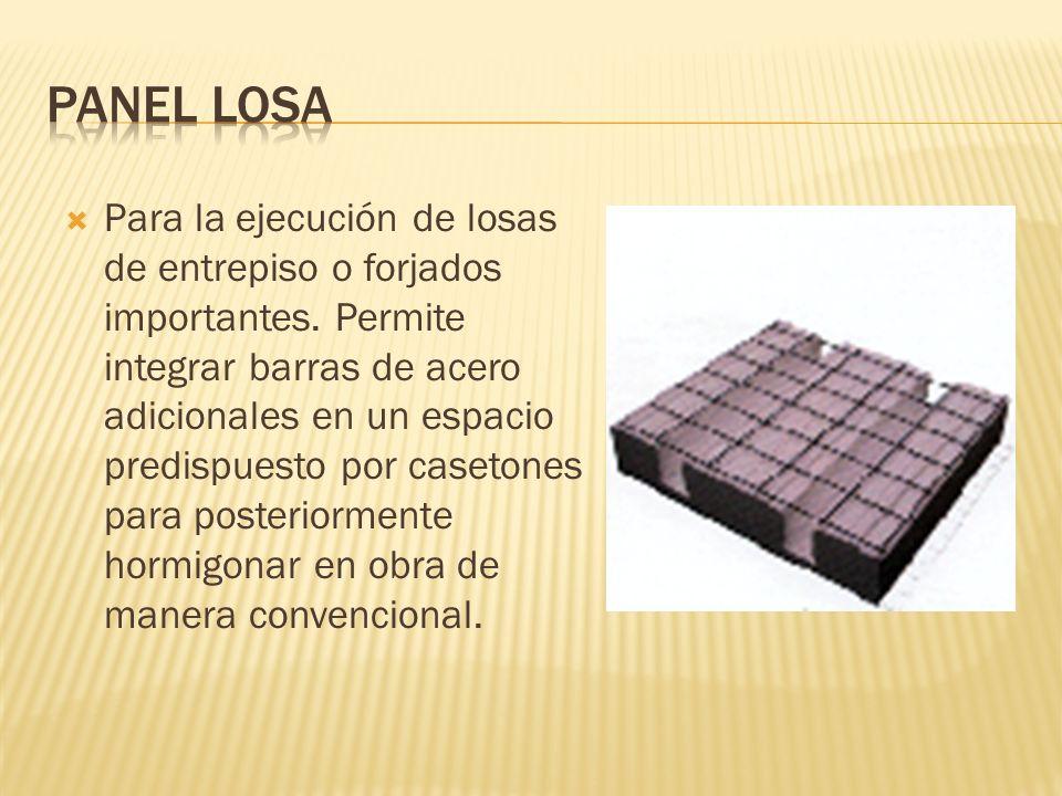 Panel losa