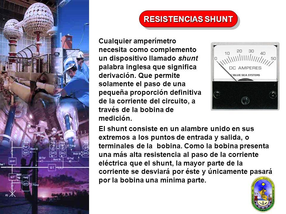 RESISTENCIAS SHUNT