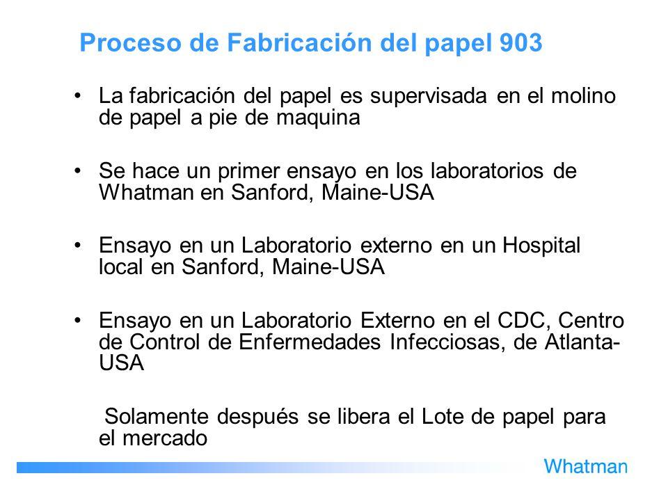 Proceso de Fabricación del papel 903