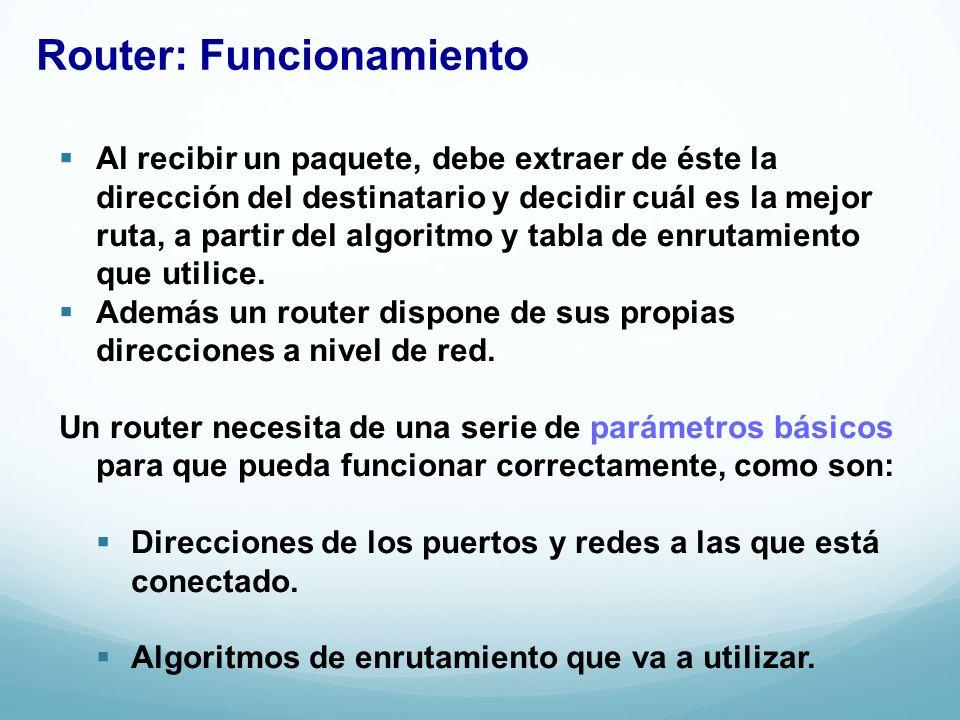 Router: Funcionamiento