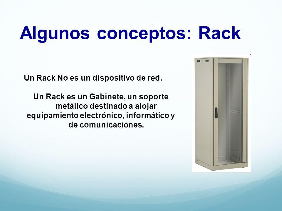 Algunos conceptos: Rack