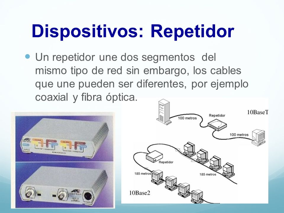 Dispositivos: Repetidor
