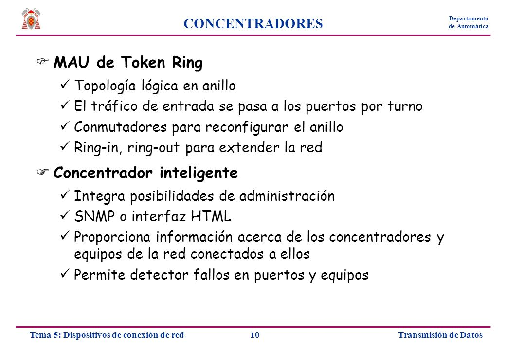 Concentrador inteligente