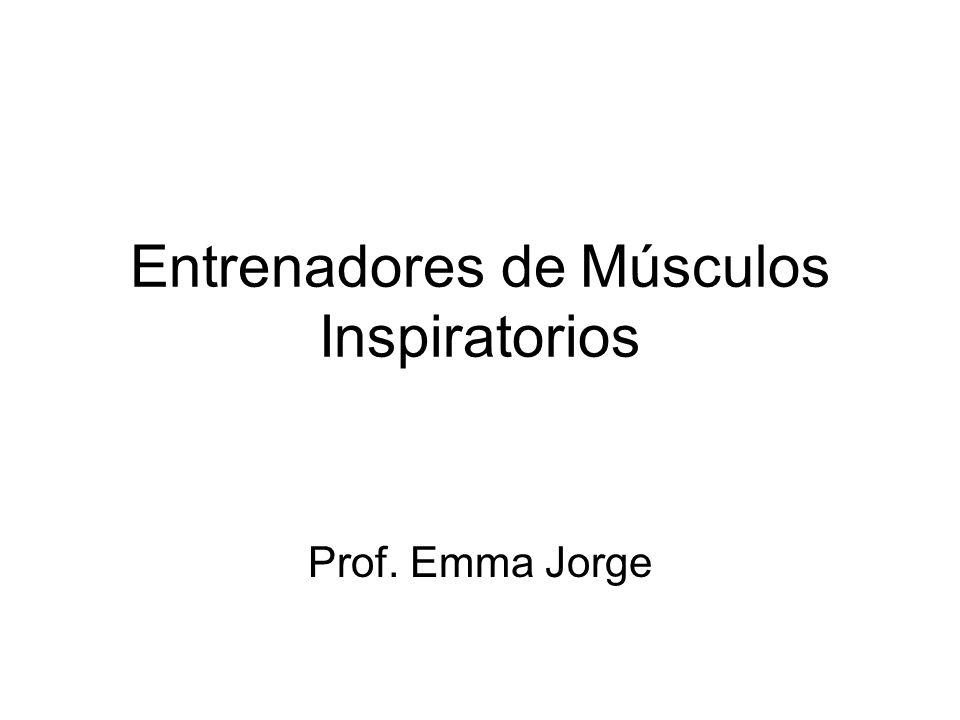 Entrenadores de Músculos Inspiratorios