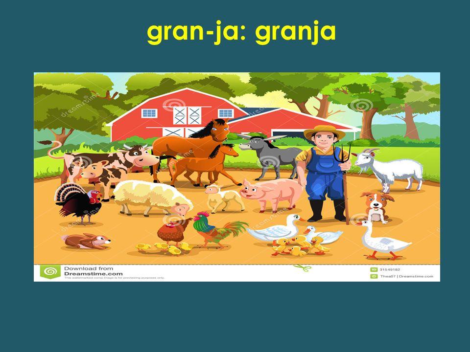 gran-ja: granja