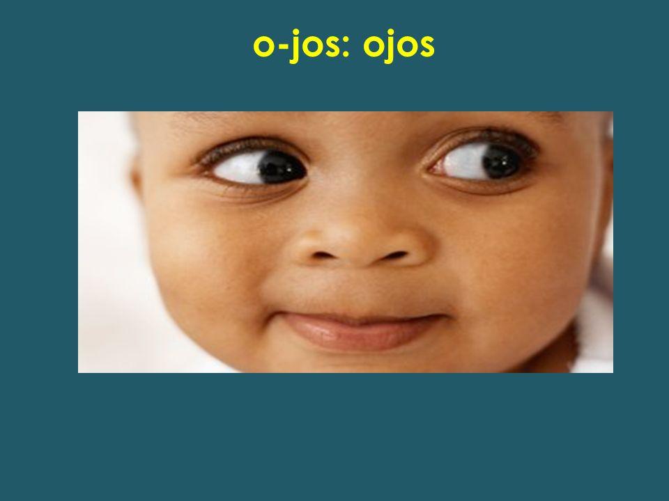 o-jos: ojos